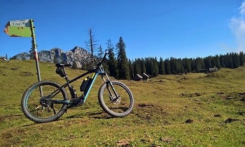 Mountainbiken um Gosau